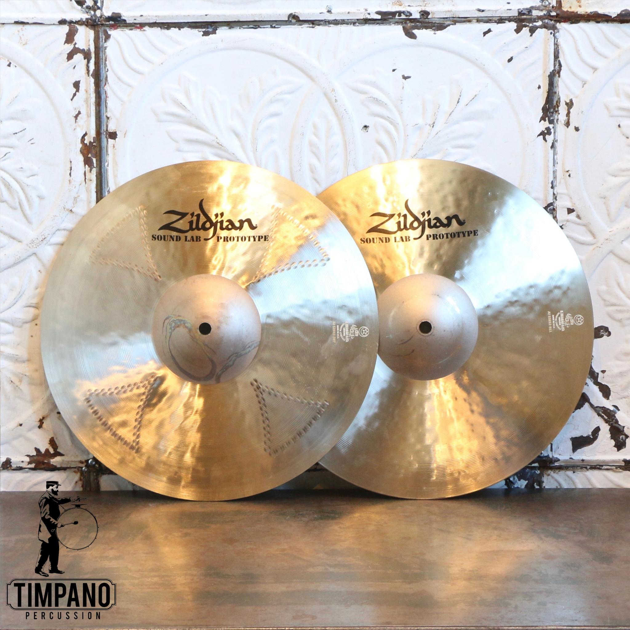 Zildjian Cymbales hi-hat prototype Zildjian K Cluster Top/K Sweet Bottom 14po