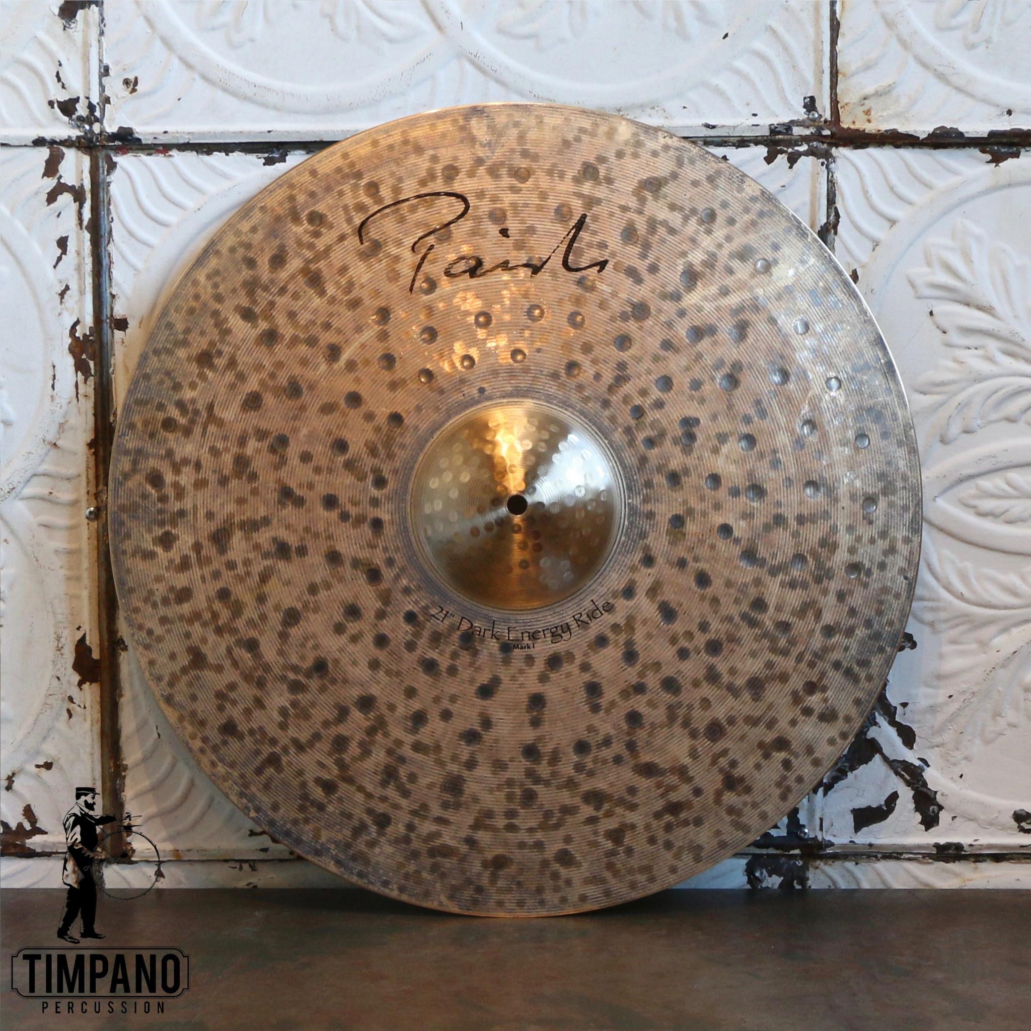Paiste Paiste Signature Dark Energy MKI Ride Cymbal 21in