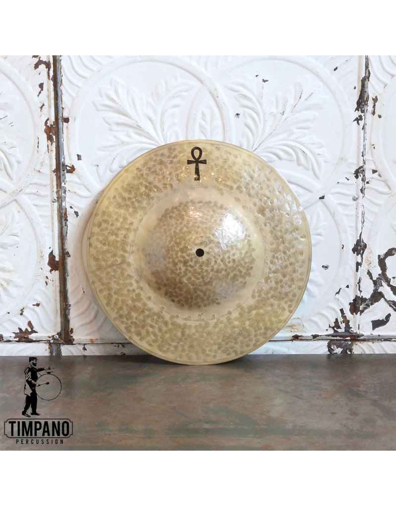 "A&F Drum Co A&F/Sabian ANKH Brass Thin Single Hat Cymbal 14"""