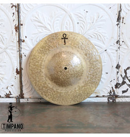 A&F Drum Co A&F/Sabian ANKH Brass Medium Single Hat Cymbal 14""