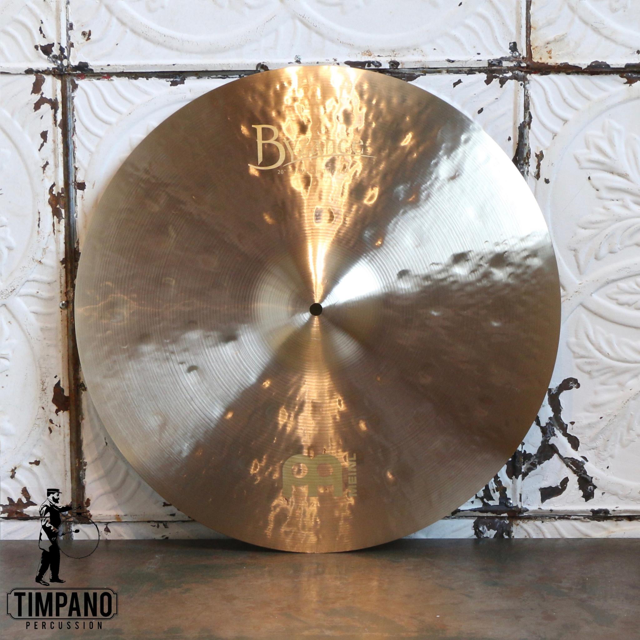 Meinl Cymbale ride Meinl Byzance Jazz Medium Thin 20po