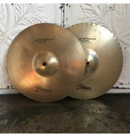Zildjian Cymbales hi-hat usagées Zildjian A Mastersound 13po