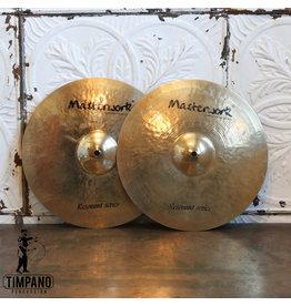 Masterwork Cymbales hi-hat usagées Masterwork Resonant 14po