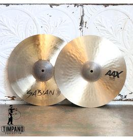 Sabian Cymbales hi-hat Sabian AAX Thin 14po