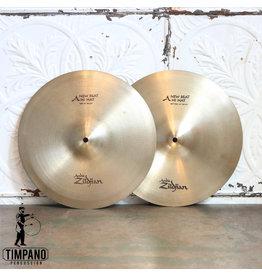 Zildjian Cymbales usagées hi-hat Zildjian A New-Beat 14po