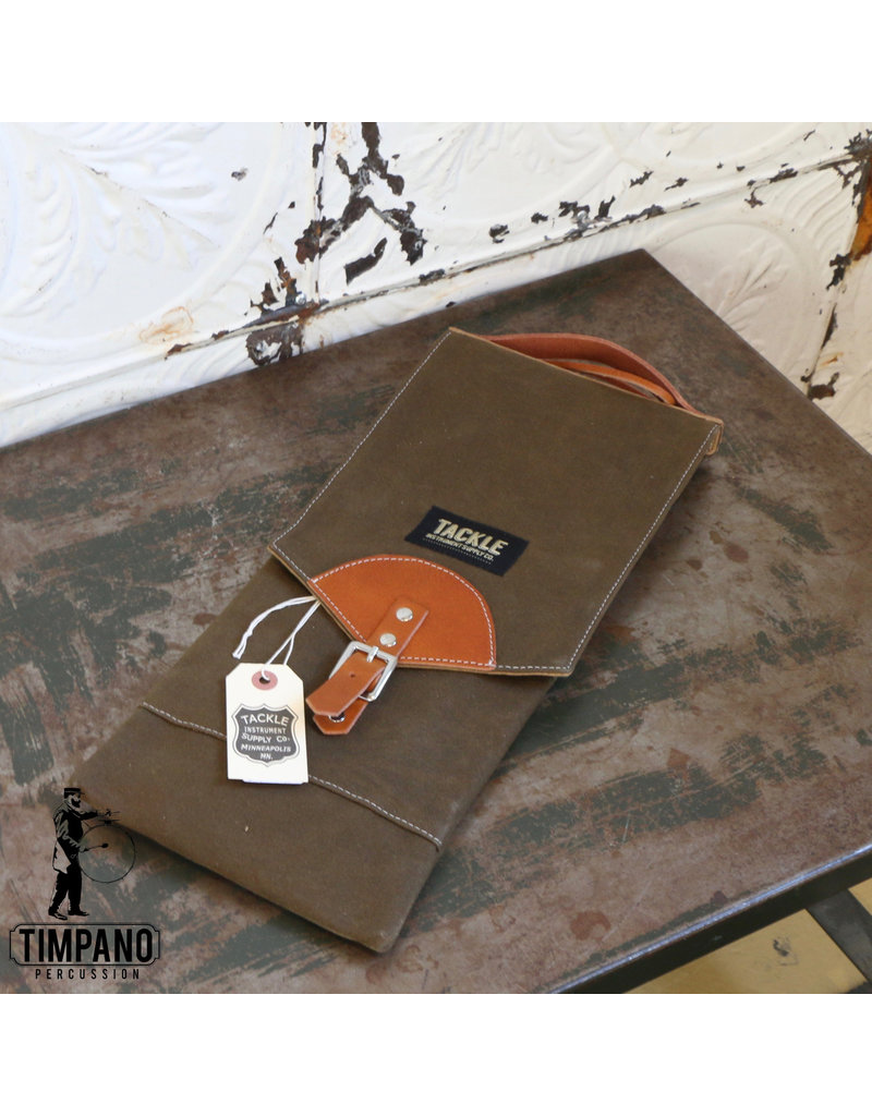 Tackle Instrument Supply Co. Tackle Waxed Canvas Forest Green Bag