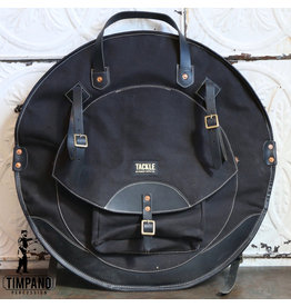 Tackle Instrument Supply Co. Tackle Leather Cymbal Bag Black 22in