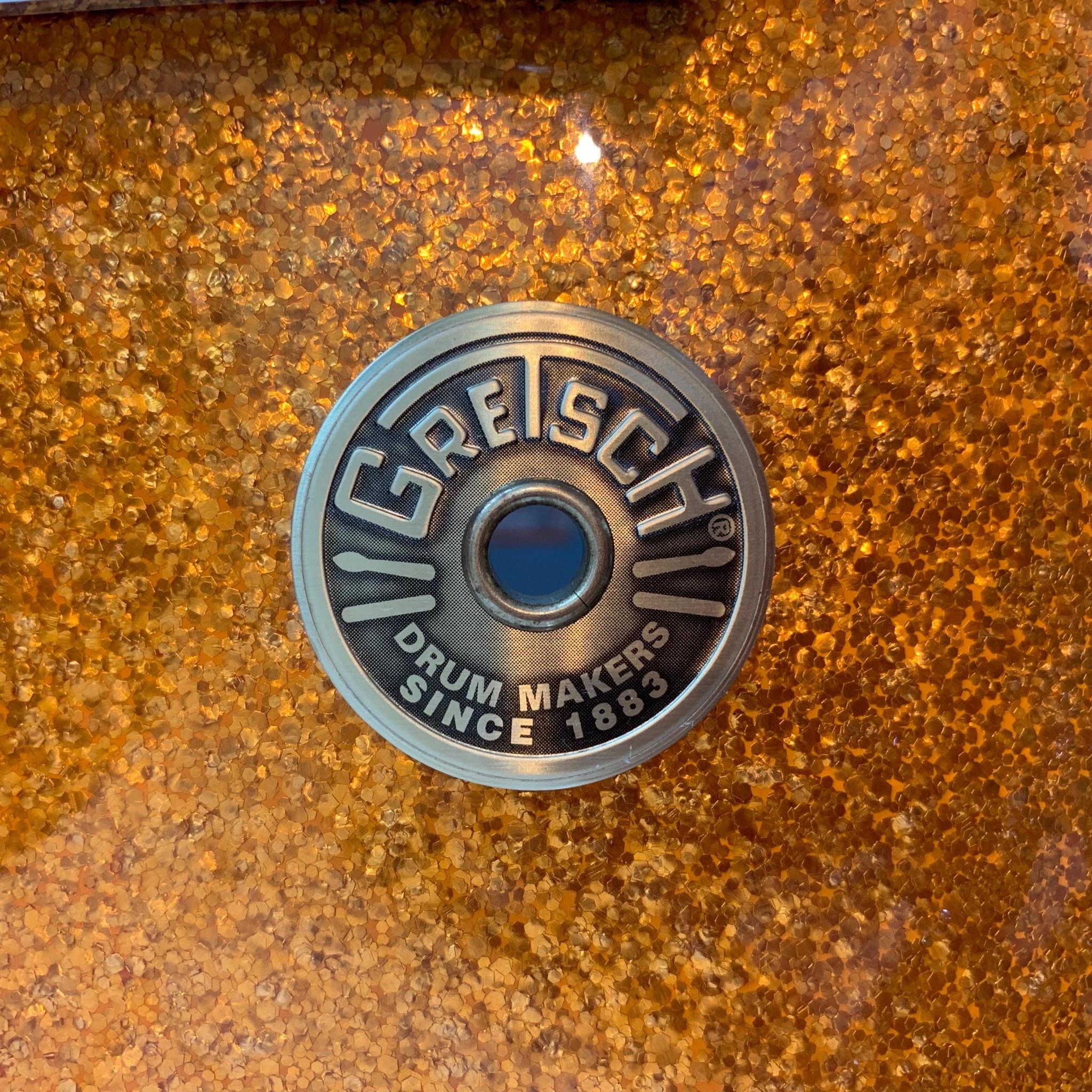 Gretsch Batterie usagée Gretsch Broadkaster (Vintage Built) 20-12-14po - Gold Sparkle