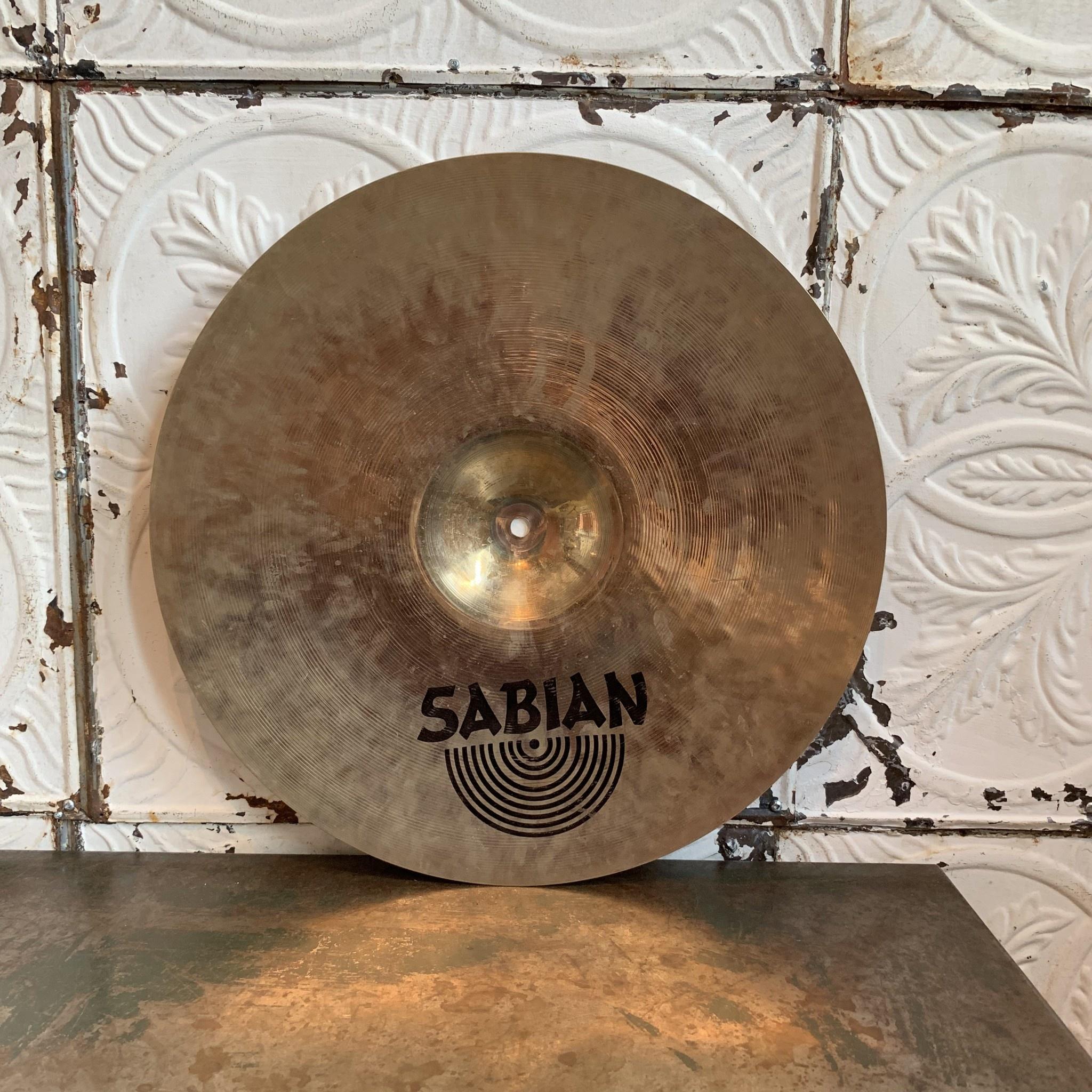Sabian Cymbale crash usagée Sabian AAX Studio 18po