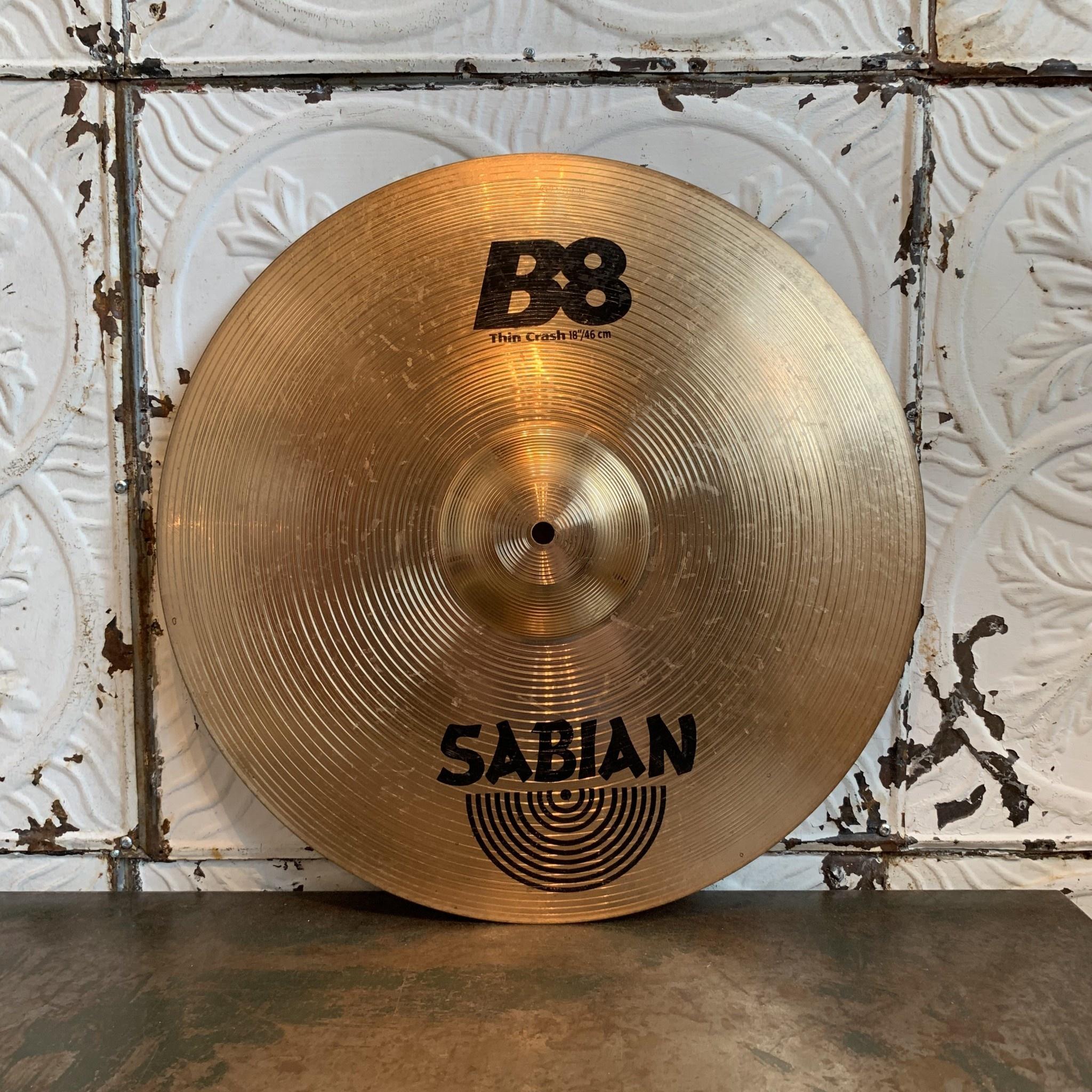 Sabian Used Sabian B8 Thin Crash 18in
