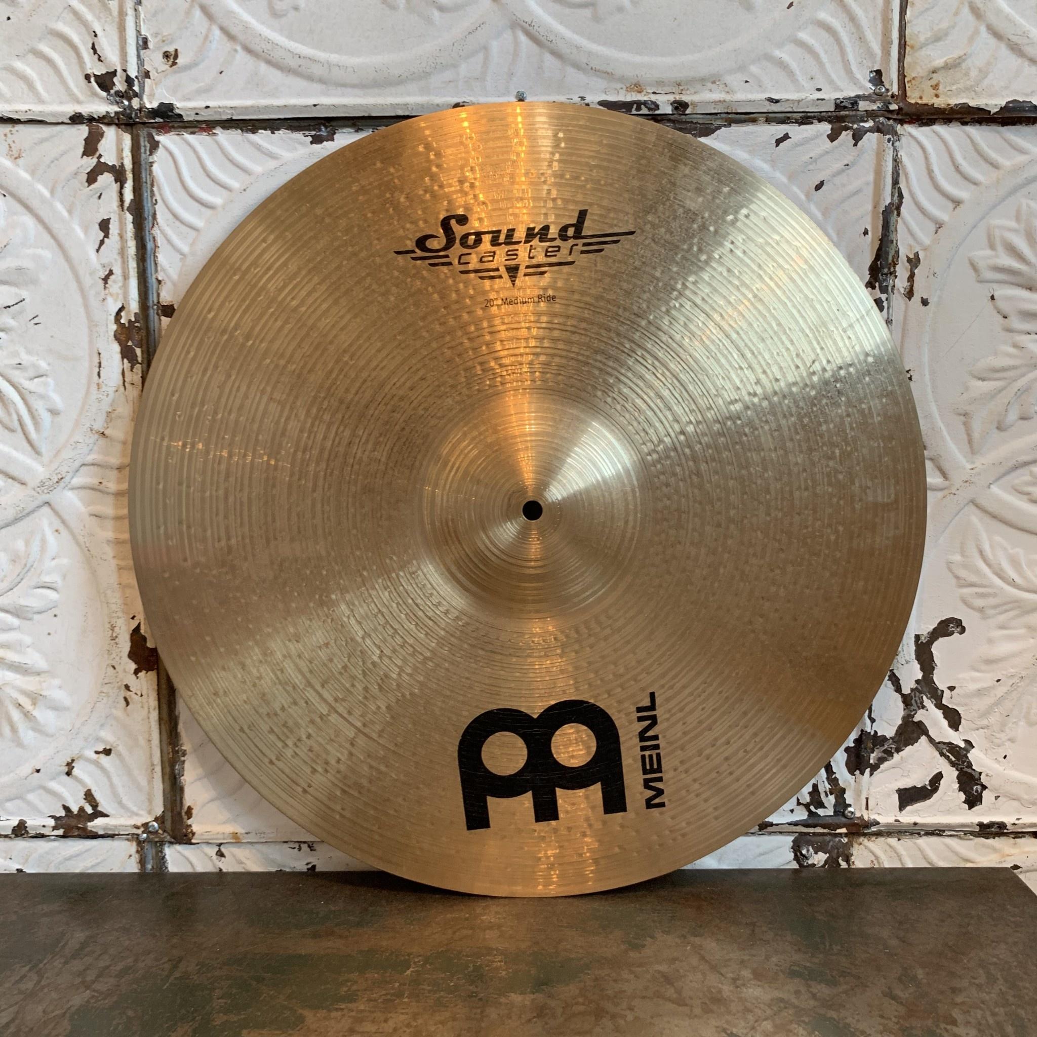 Meinl Cymbale ride usagée Meinl Soundcaster Medium 20po