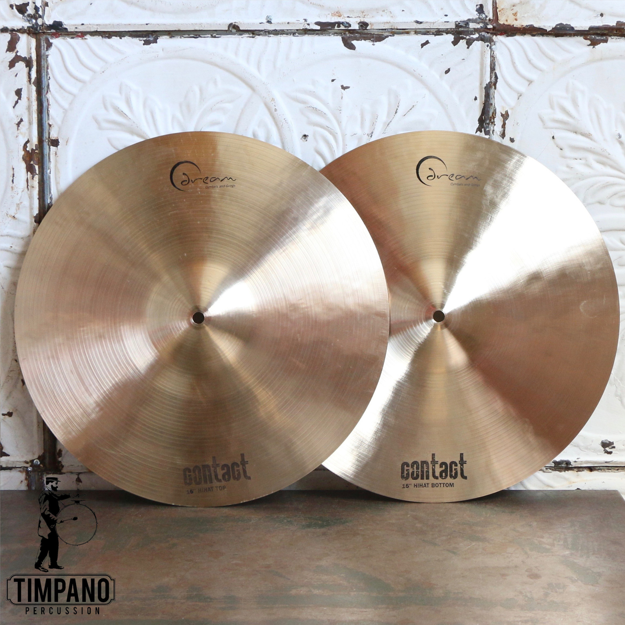 Dream Cymbales hi-hat Dream Contact 16po