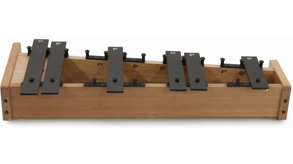Suzuki Glockenspiel alto Suzuki Orff extension chromatique GCA-6