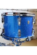 Ludwig Batterie usagée Ludwig Legacy Mahogany 22-13-16po - Blue Sparkle