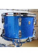 Ludwig Used Ludwig Legacy Mahogany Drum Kit 22-13-16in - Blue Sparkle