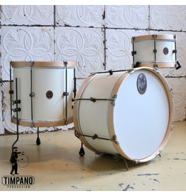 A&F Drum Co Batterie A&F Field Antique White 22-12-16po