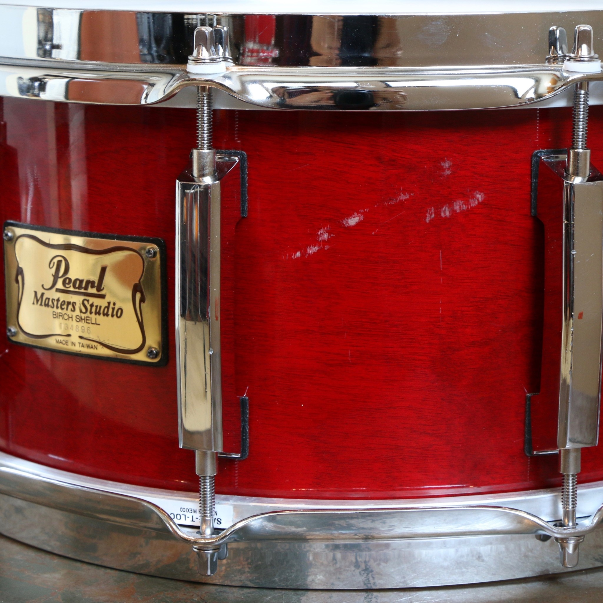Pearl Used Pearl Masters Studio Birch Snare Drum 14X6.5in