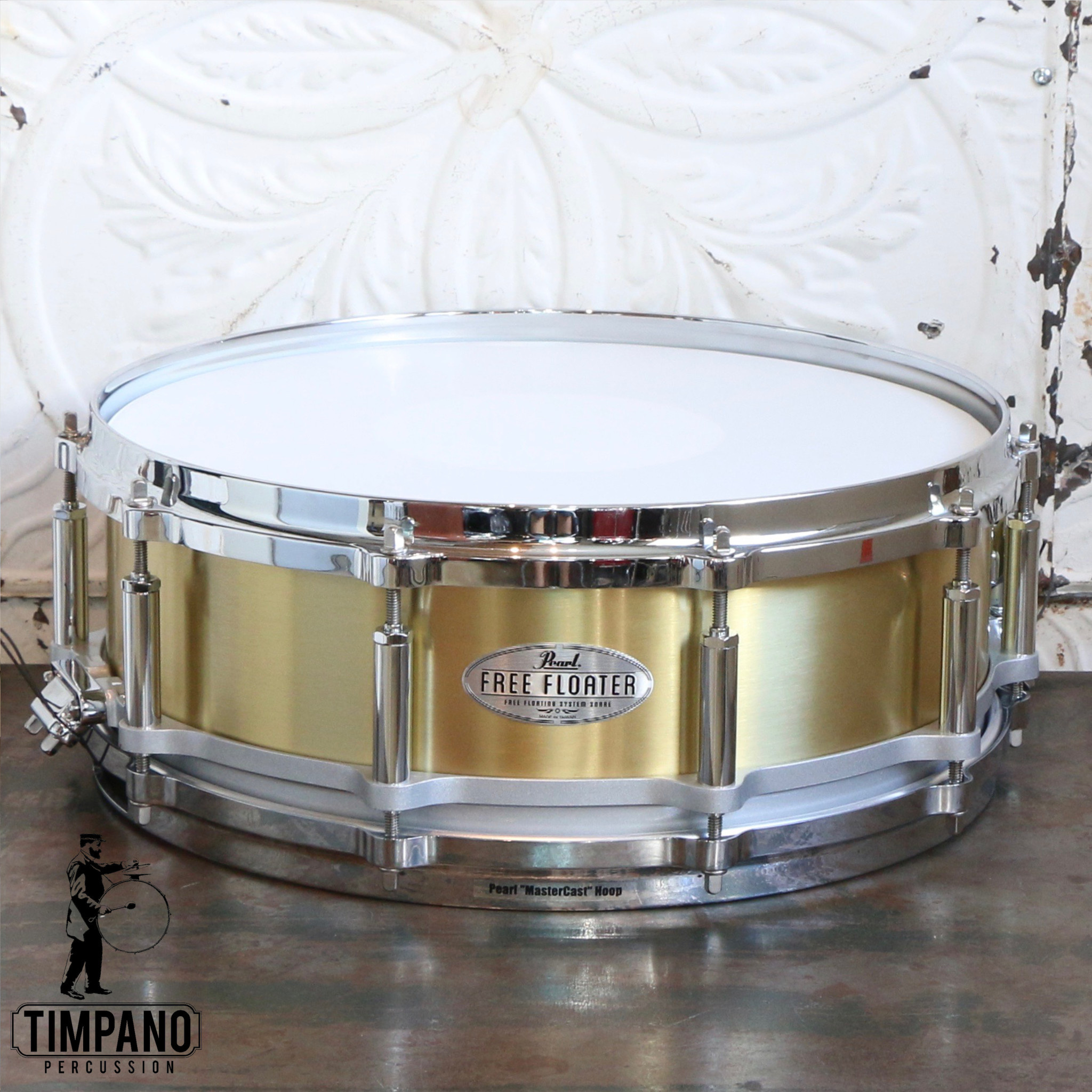 Pearl Used Pearl Free Floater Brass 14x5po