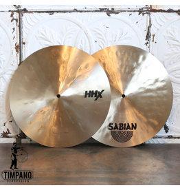 Sabian Cymbales hi-hat usagées Sabian HHX Groove Hats 15po