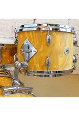 Gretsch Used Gretsch USA 130th Anniversary 18-12-14in + 14in snare - Yellow Satin Flame