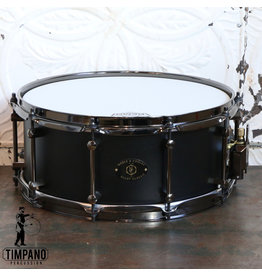 Noble & Cooley Noble & Cooley Alloy Classic Snare Drum 14X6in - Black