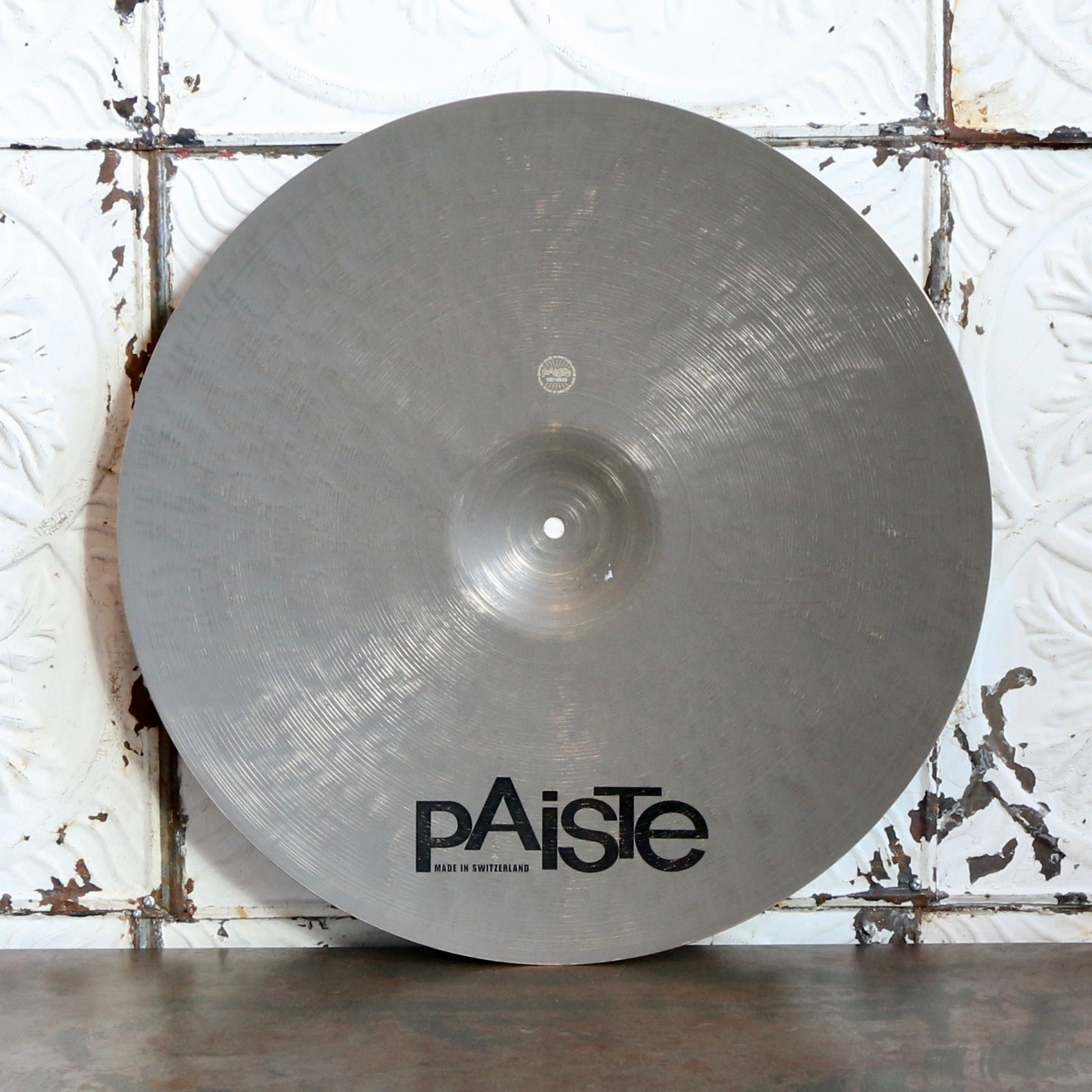 Paiste Used Paiste Masters Dry Ride Cymbal 21in