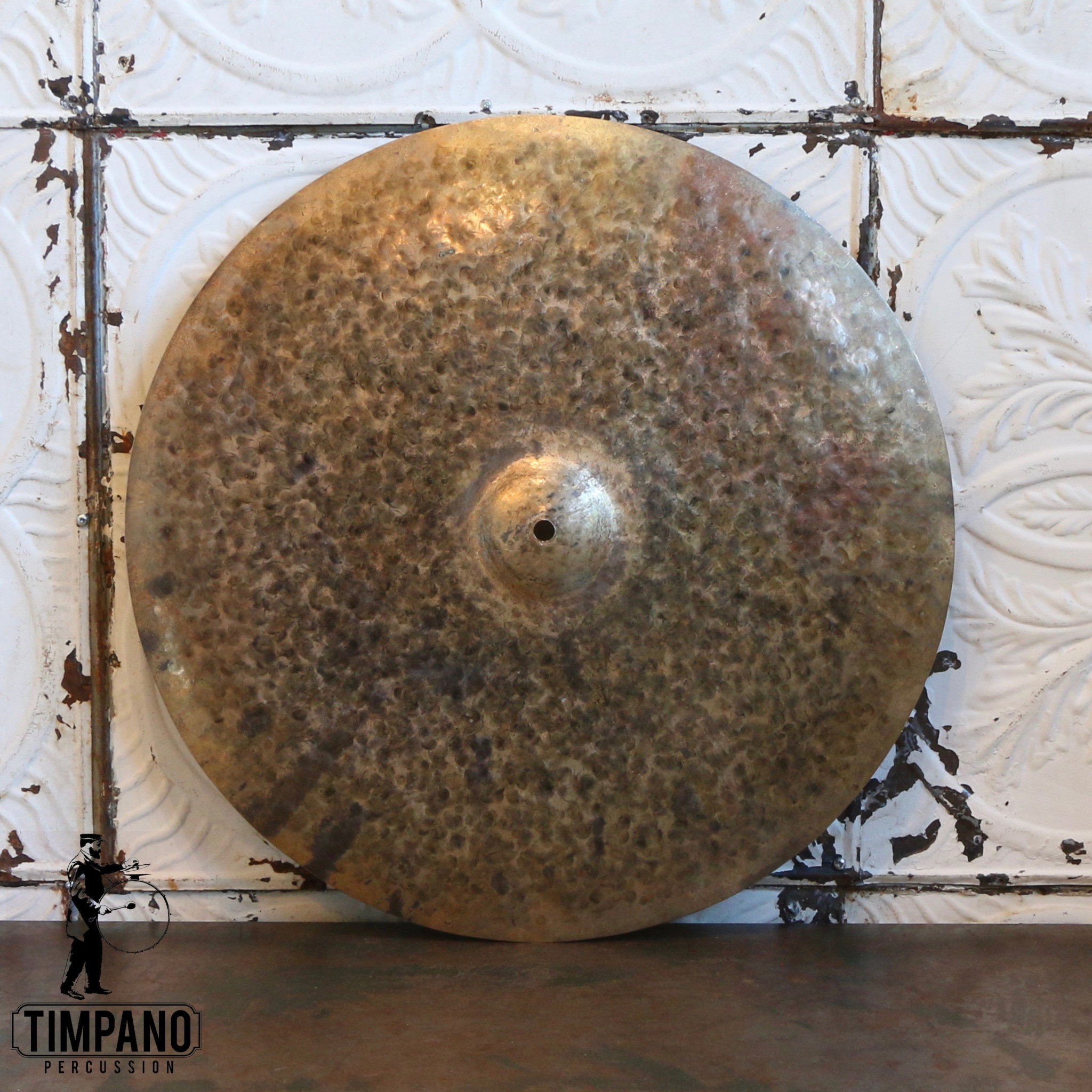 Byrne Cymbals Byrne Half Turk Small Bell Ride Cymbal 20in (2035g)