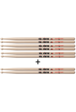 Vic Firth 4 pairs of Vic Firth 2B for the price of 3