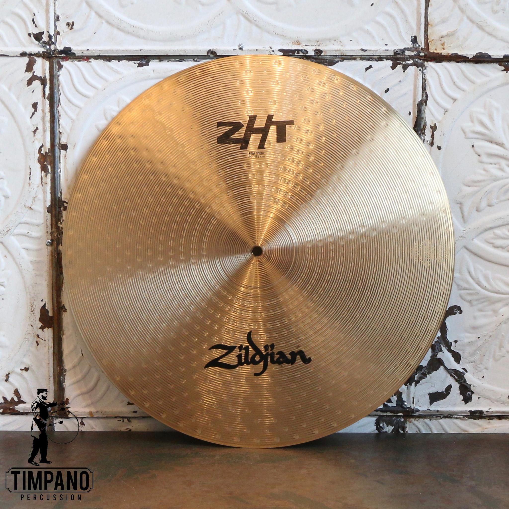 Zildjian Cymbale ride usagée Zildjian ZHT flat 20po