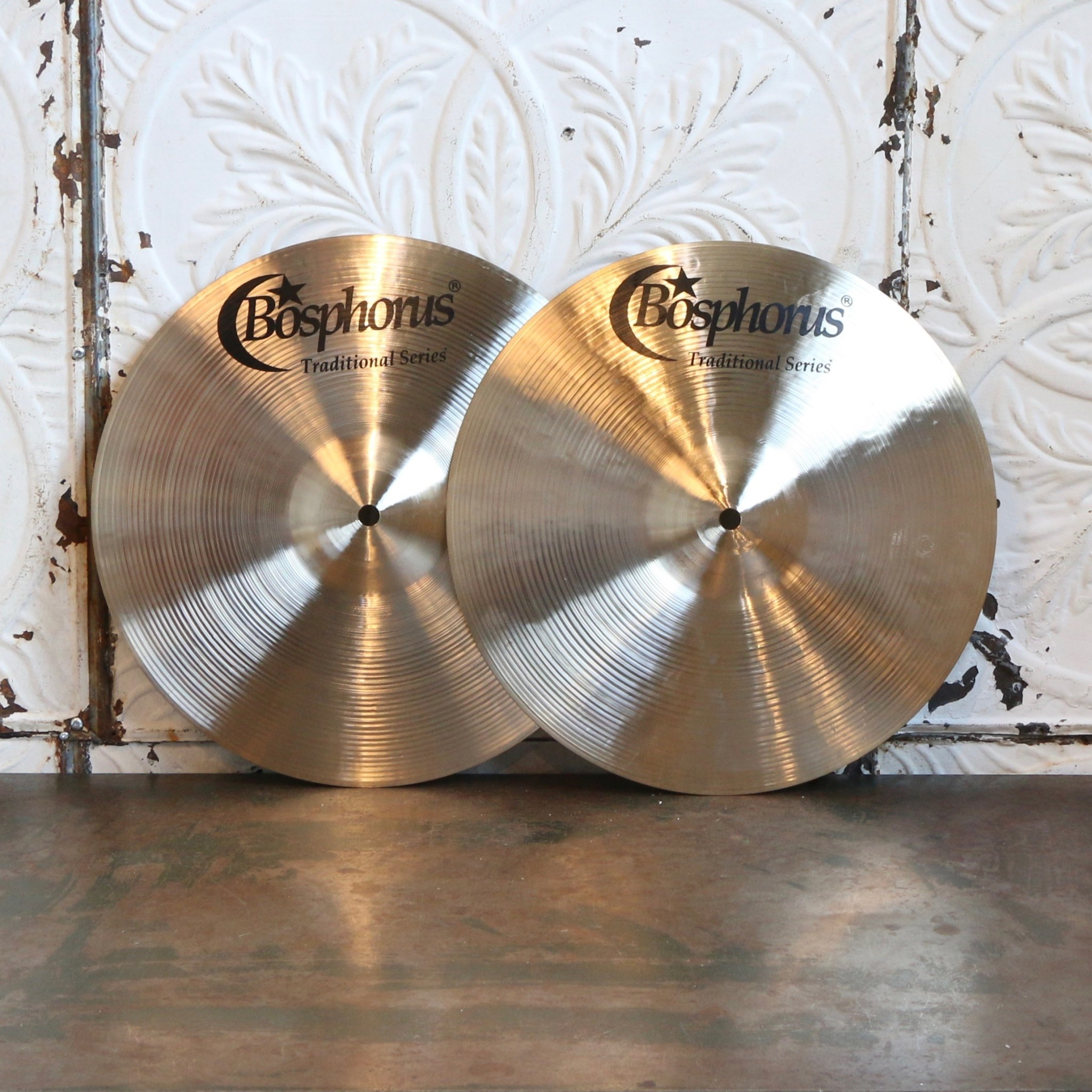 "Bosphorus BOSPHORUS 13"" TRADITIONAL HI-HATS BRIGHT"