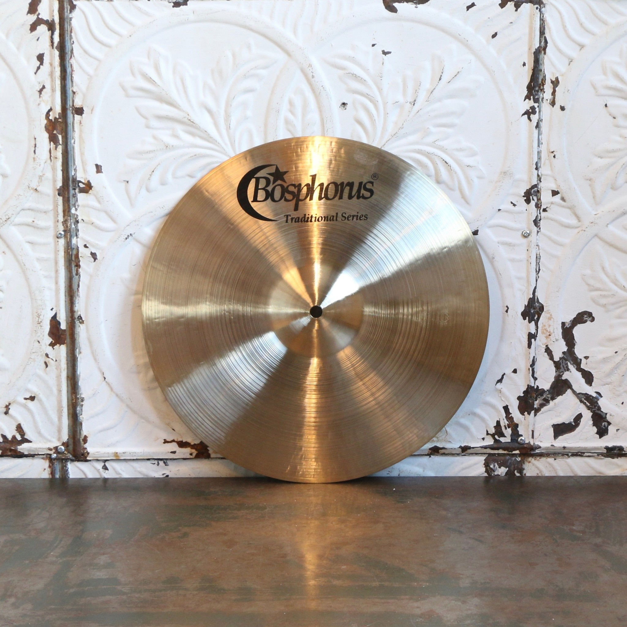 "Bosphorus BOSPHORUS 14"" TRADITIONAL CRASH MED THIN"