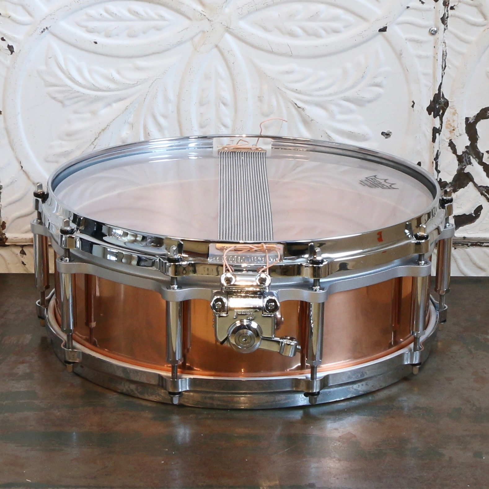 Pearl Caisse claire usagée Pearl Free-Floating Copper 14X5po