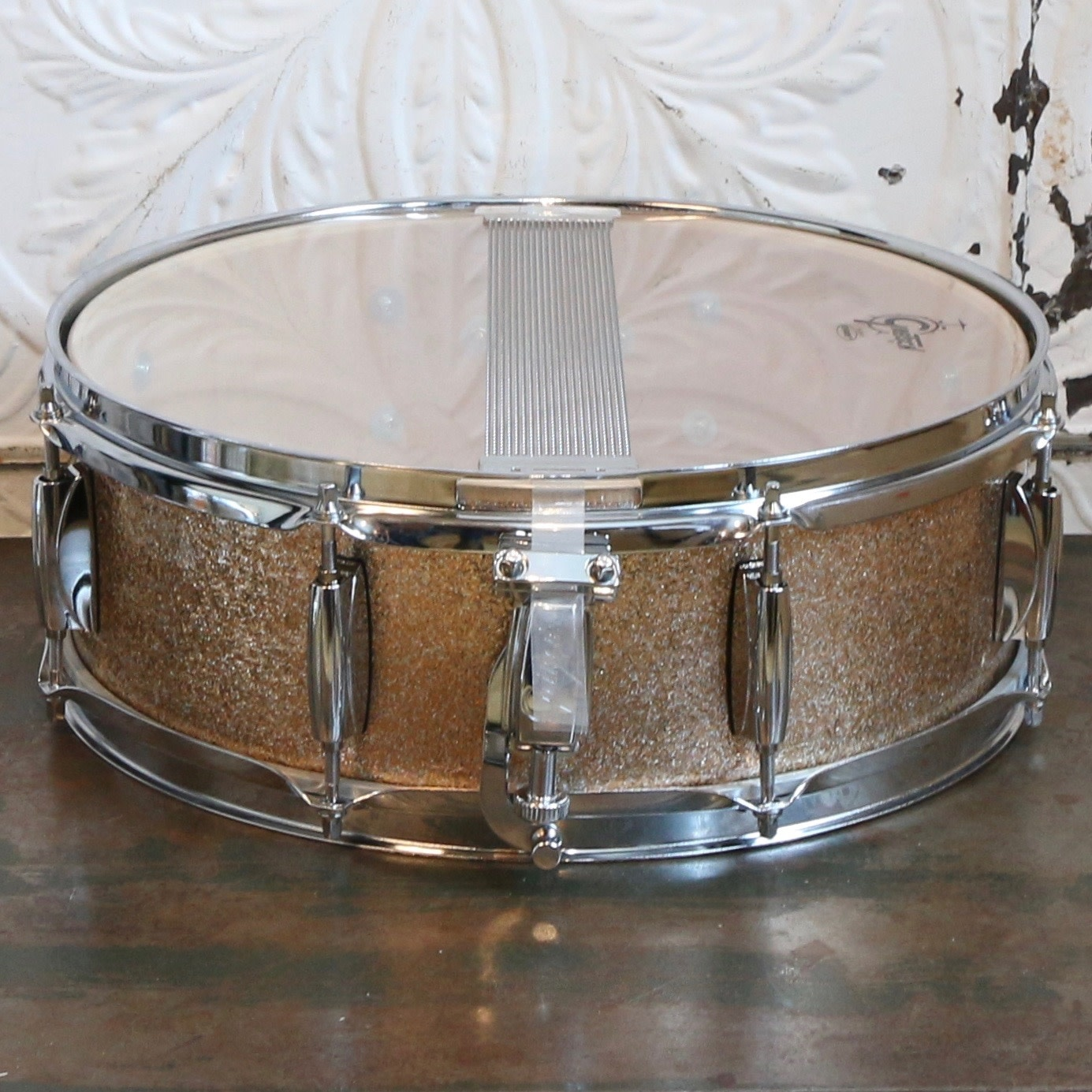 Gretsch Used Gretsch Catalina Club Snare Drum 14X5in - Champagne Sparkle
