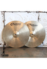 Bosphorus Cymbales hi-hat usagées Bosphorus Traditional Dark 15po