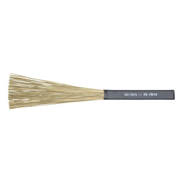 Vic Firth Baguettes Vic Firth REMIX Brushes - African Grass
