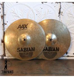 Sabian Used Hi-Hat Cymbals Sabian AAX Stage 14in