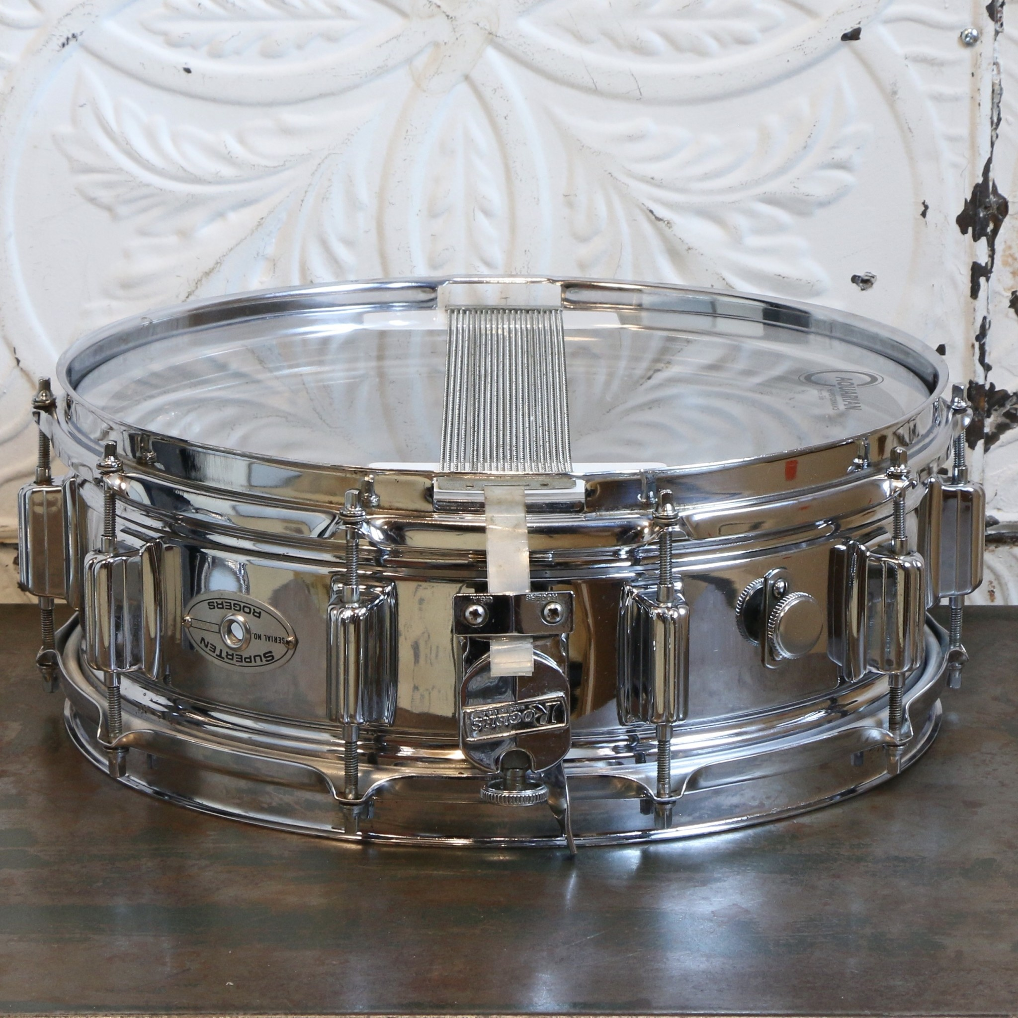 Rogers Used Rogers Super Ten Snare Drum 14X5in