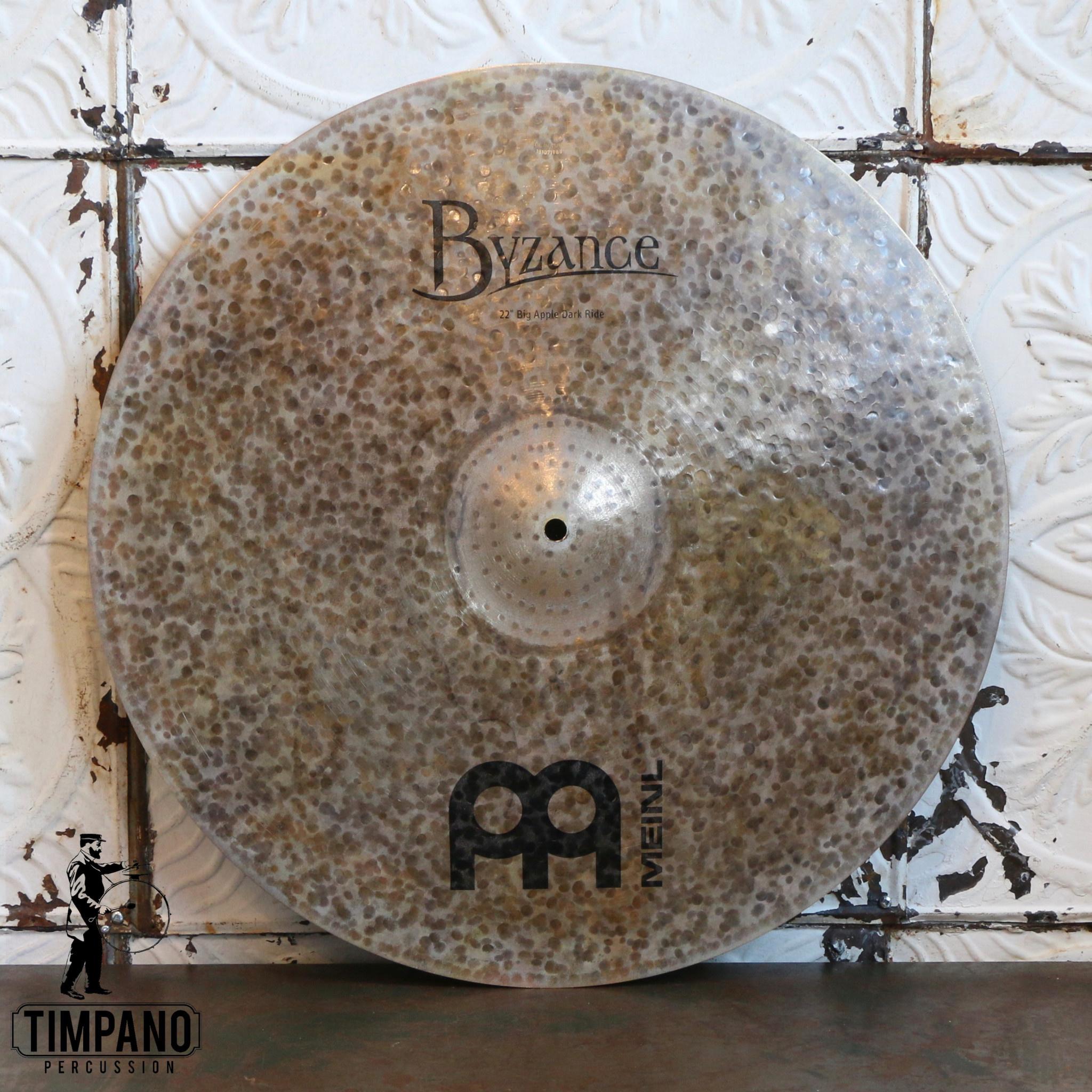 Meinl Cymbale ride Meinl Byzance Big Apple Dark 22po