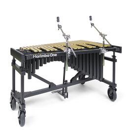 Marimba One New Wave Vibraphone by Marimba One - Gold with Motor