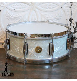 Gretsch Caisse claire Gretsch USA Custom 60s Vintage 14X5.5po - Marine Pearl Nitron