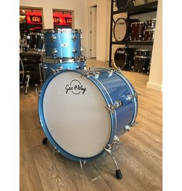 George Way George Way Aristocrat Drum Kit 22-13-16in - Billion Dollar Baby Blue