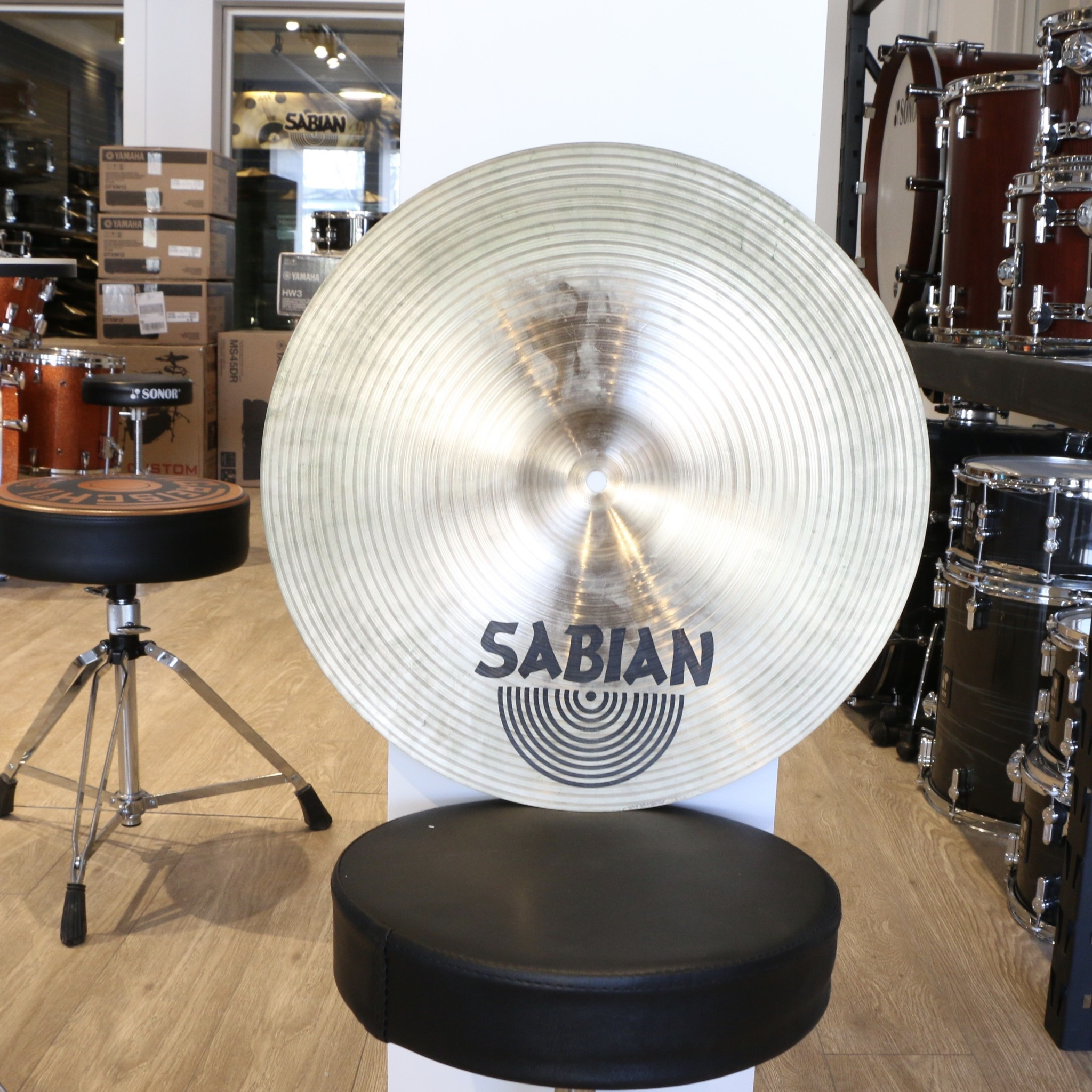 Sabian Cymbale crash usagée Sabian XS20 Medium Thin 16po