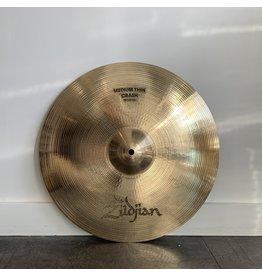 Zildjian Cymbale crash usagée Zildjian A Medium Thin 16po