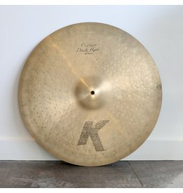 Zildjian Used Zildjian K Custom Dark Ride Cymbal 20in