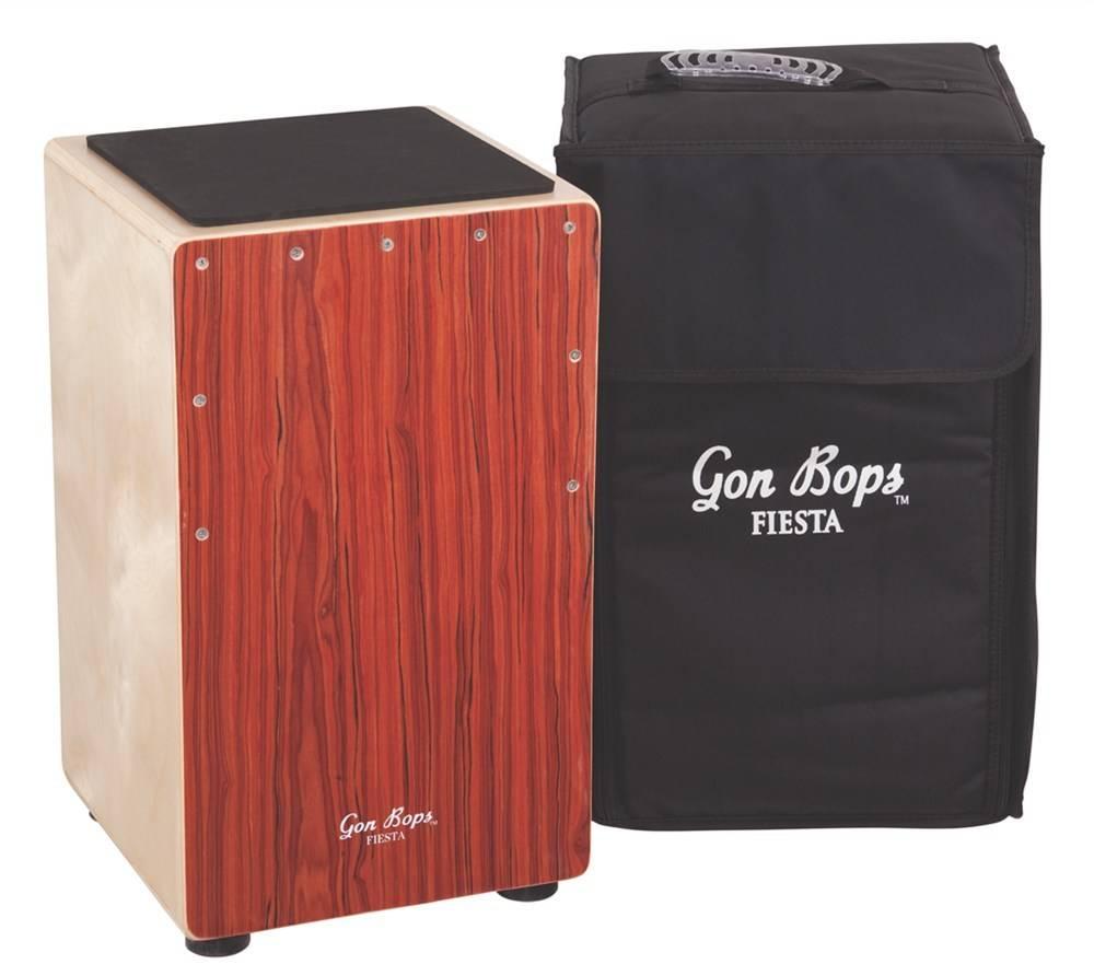 Gon Bops Gon Bops Fiesta Cajon Mahogany with bag