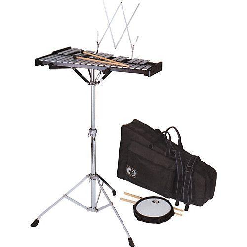 CB Glockenspiel CB avec pad de pratique et étui