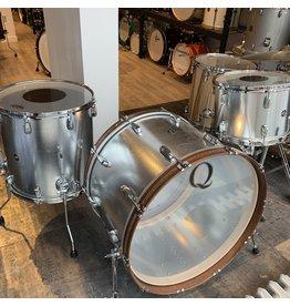 Q Drum Company Q Drum Galvanized Steel 24-13-16in