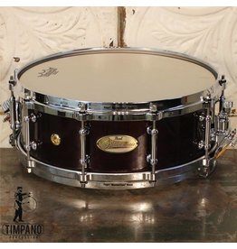 Pearl Pearl Philharmonic Concert Snare Drum in Maple High Gloss Walnut 14X5in