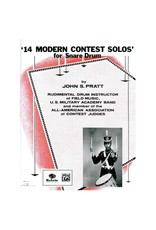 Alfred Music Méthode 14 Modern Contest Solos Drum