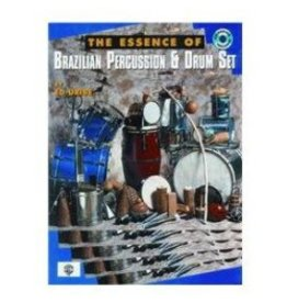 Alfred Music Méthode Essence of Brazilian Percussion & Drum Set (avec CD)